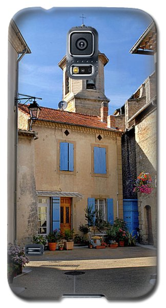 Galaxy S5 Case featuring the photograph Church Steeple In Provence by Dave Mills