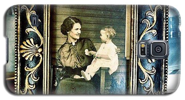 Circa 1900s Portrait Galaxy S5 Case