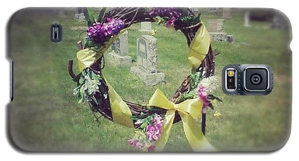 Decorative Galaxy S5 Case - #circle #ribbon #flower #flowers #reef by Kayla St Pierre