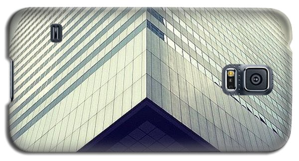 Transportation Galaxy S5 Case - Citicorp by Randy Lemoine