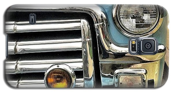 Classic Car Headlamp Galaxy S5 Case by Julie Gebhardt
