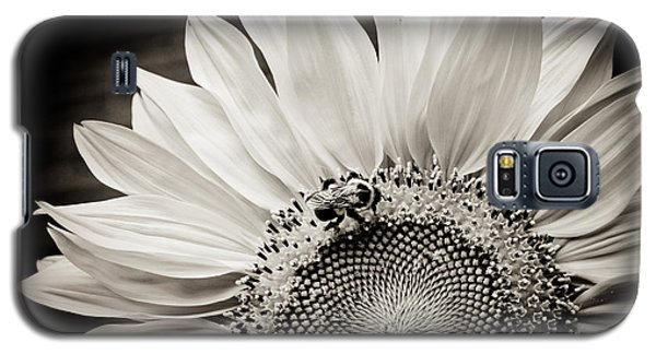 Galaxy S5 Case featuring the photograph Classic Sunflower by Sara Frank