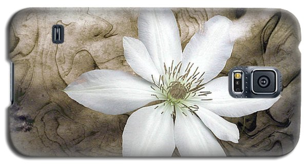 Clematis Galaxy S5 Case by Richard Ortolano