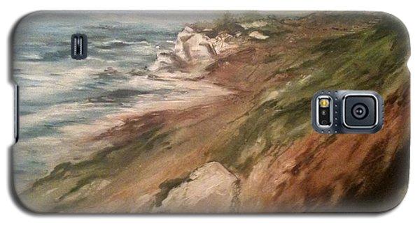 Cliff Side - Newport Galaxy S5 Case