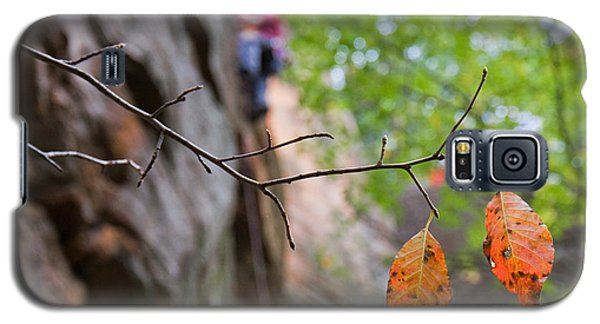 Climber In Fall Galaxy S5 Case