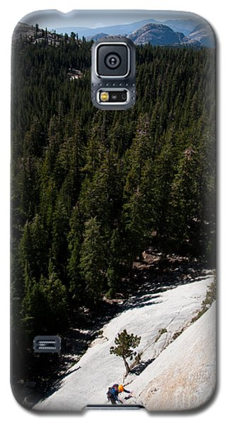 Climber In Yosemite Galaxy S5 Case
