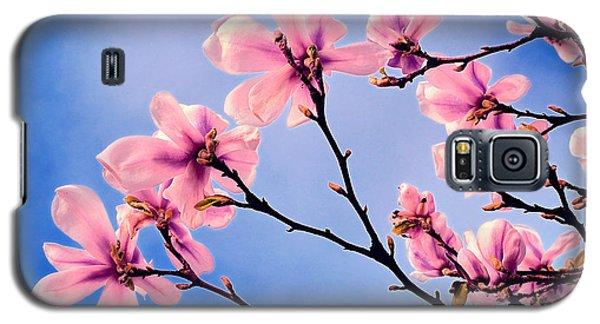 Cherry Blossums Galaxy S5 Case