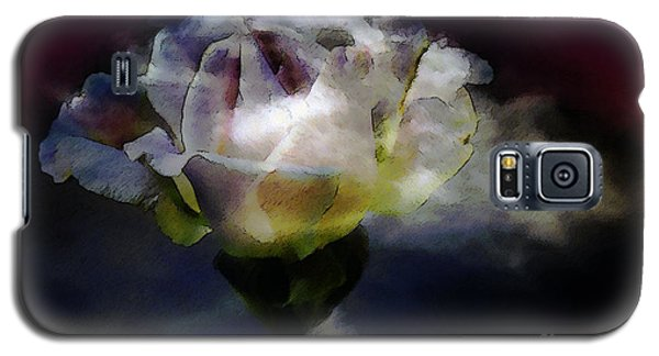 Galaxy S5 Case featuring the photograph Cloud Rose Painterly by Clayton Bruster