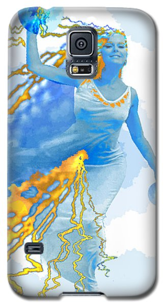 Cloudia Of The Clouds Galaxy S5 Case by Seth Weaver