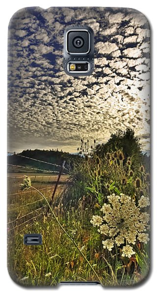 Galaxy S5 Case featuring the photograph Clouds Gone Wild by Tyra  OBryant