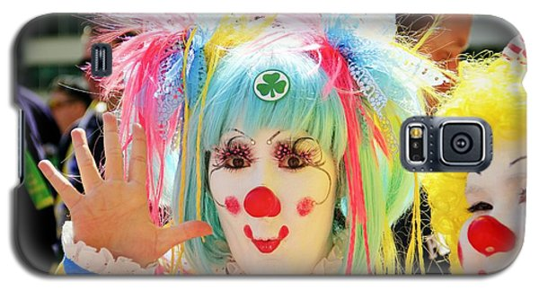 Galaxy S5 Case featuring the photograph Cloverleaf Clown by Alice Gipson