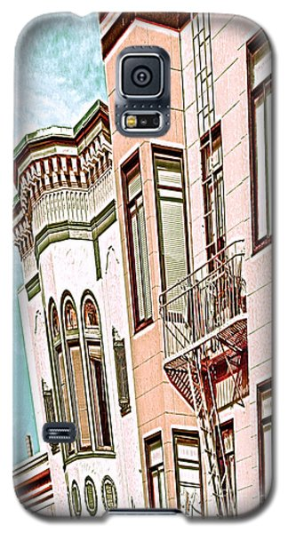 Coat In The Window Galaxy S5 Case by Artist and Photographer Laura Wrede
