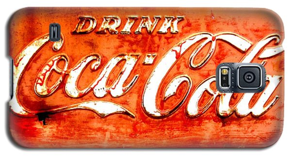 Galaxy S5 Case featuring the photograph Coca Cola by Amy Sorrell