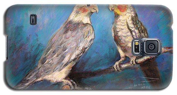 Coctaiel Parrots Galaxy S5 Case