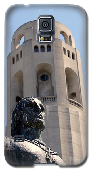 Coit Tower Statue Columbus Galaxy S5 Case