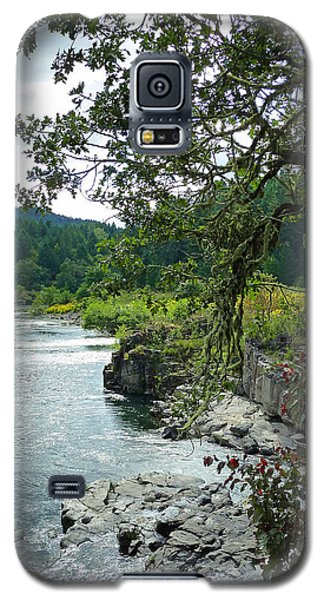 Colliding Rivers Galaxy S5 Case