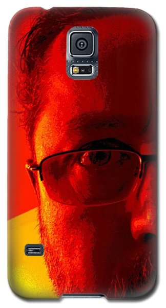 Galaxy S5 Case featuring the photograph Color Me Bad by Jeff Iverson