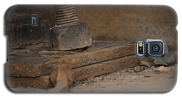 Galaxy S5 Case featuring the photograph Color Of Steel 1 by Fran Riley