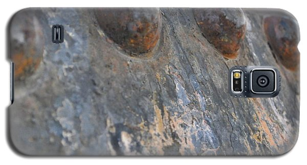 Galaxy S5 Case featuring the photograph Color Of Steel 7 by Fran Riley