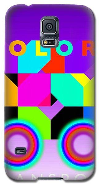 Color Wheels Galaxy S5 Case