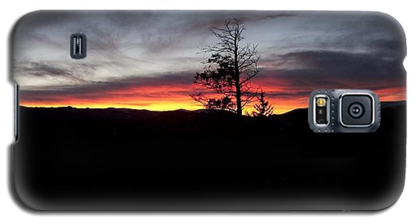 Galaxy S5 Case featuring the photograph Colorado Sunset by Angelique Olin