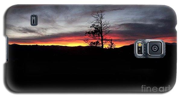 Colorado Sunset Galaxy S5 Case by Angelique Olin