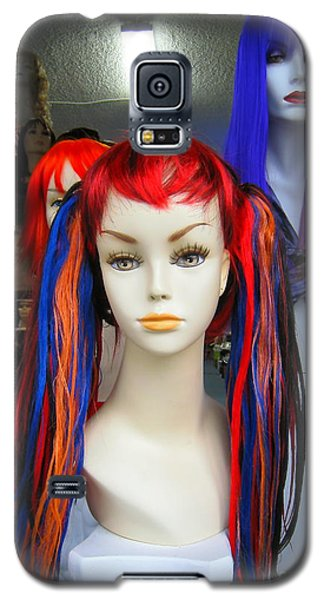 Colored Hairdo Galaxy S5 Case by John King