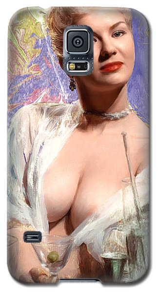 Galaxy S5 Case featuring the painting Colored Martini by Robert Smith