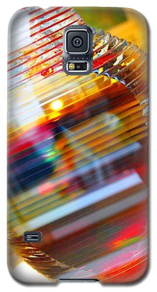 Galaxy S5 Case featuring the painting Colored Vase At The Mayo Clinic by Laura  Grisham
