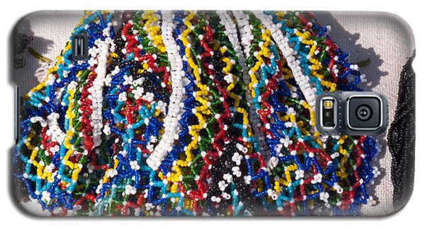 Colorful Beads Jewelery Galaxy S5 Case