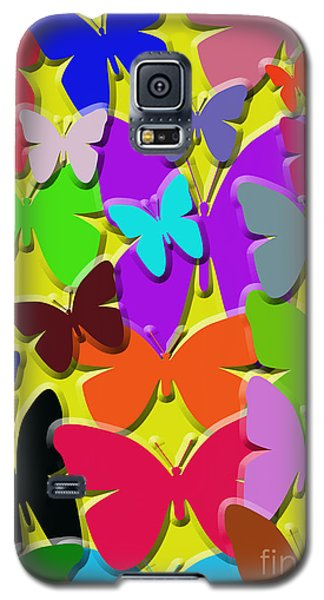 Colorful Butterflies Galaxy S5 Case