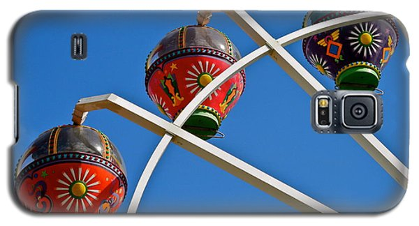 Colorful Ferris Wheel In Glenelg Galaxy S5 Case by Kirsten Giving