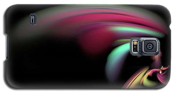 Galaxy S5 Case featuring the digital art Colorful Flash by Ester  Rogers