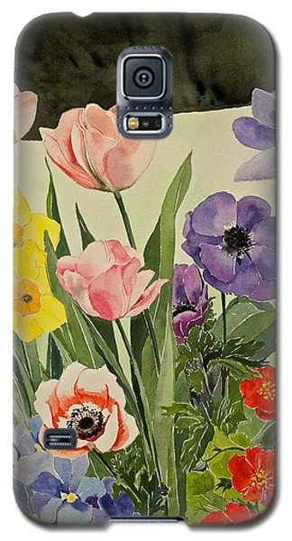 Colorful Flowers-posthumously Presented Paintings Of Sachi Spohn  Galaxy S5 Case