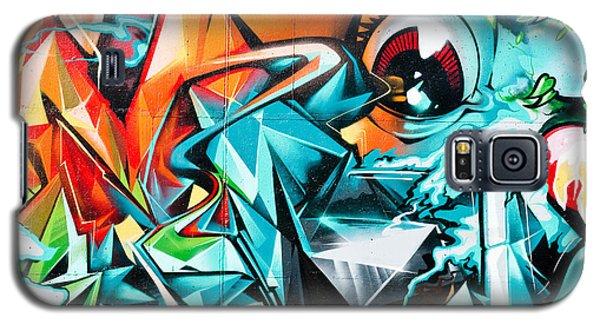 Colorful Graffiti Fragment Galaxy S5 Case