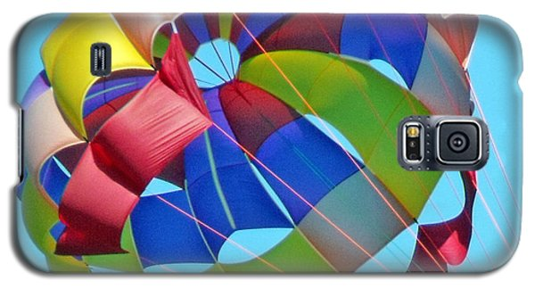 Colorful Parachute Galaxy S5 Case