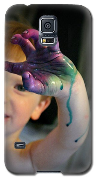 Colorful Trouble Galaxy S5 Case