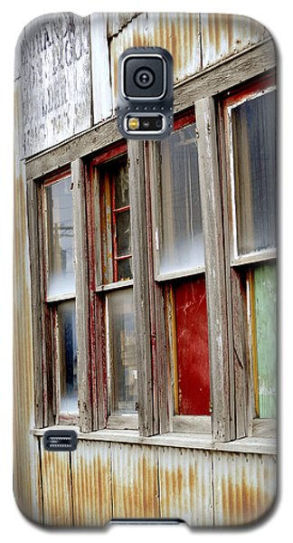 Galaxy S5 Case featuring the photograph Colorful Windows by Fran Riley