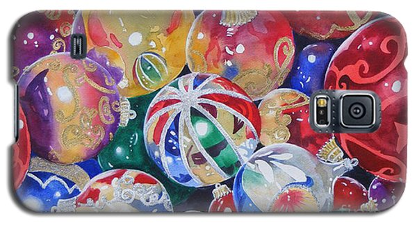 Colors Of Christmas ...sold  Galaxy S5 Case