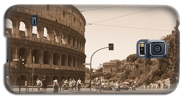 Colosseum In Sepia Galaxy S5 Case