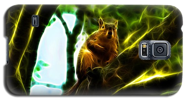 Come On Up - Fractal - Robbie The Squirrel Galaxy S5 Case
