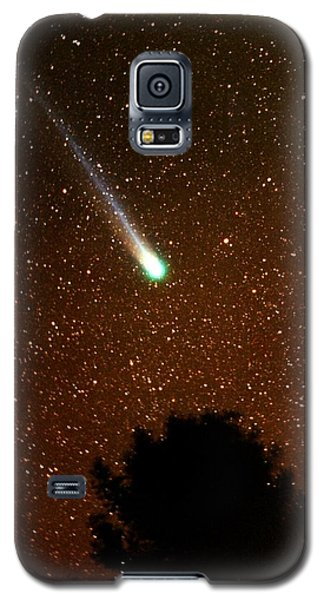 Galaxy S5 Case featuring the photograph Comet Hyakutake by Rick Frost