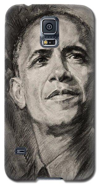 Barack Obama Galaxy S5 Case - Commander-in-chief by Ylli Haruni