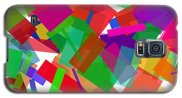 Confetti Multicolor Galaxy S5 Case