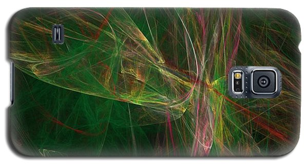 Galaxy S5 Case featuring the digital art Confusion by Ester  Rogers