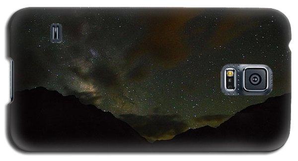 Convict Lake Milky Way Galaxy Galaxy S5 Case