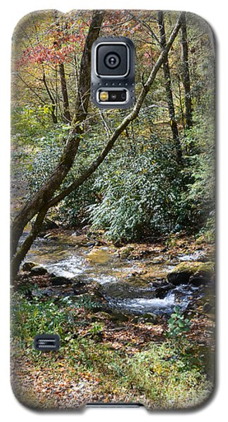 Galaxy S5 Case featuring the photograph Cool Creek by Margaret Palmer
