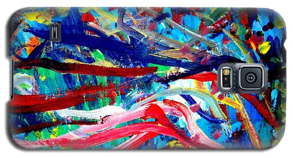 Galaxy S5 Case featuring the painting Coral Street by Amy Sorrell