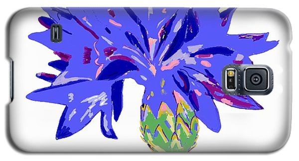 Galaxy S5 Case featuring the digital art Cornflower by Barbara Moignard