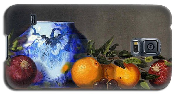 Galaxy S5 Case featuring the painting Cornucopia by Barry Williamson